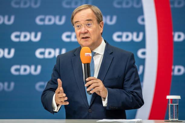 "DEU: CDU Presents ""Future Team"" To Support Armin Laschet In Federal Elections"