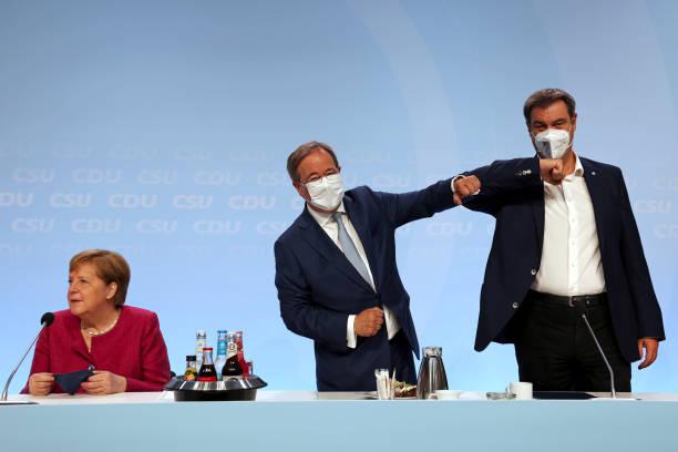 DEU: Germany's Ruling Bloc Presents Election Manifesto