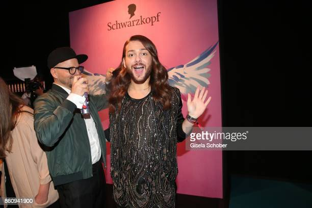 Armin Morbach and Riccardo Simonetti during the 'Tribute To Bambi' gala at Station on October 5 2017 in Berlin Germany