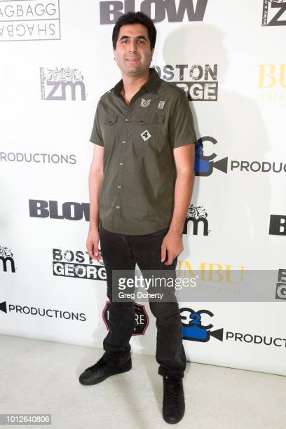 Armin Nasseri attends George Jung's Birthday Celebration And Screening Of Blow at TCL Chinese 6 Theatres on August 6 2018 in Hollywood California