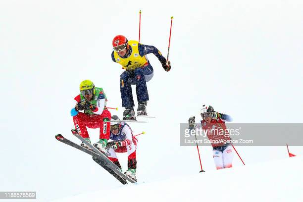Armin Niederer of Switzerland competes, Siegmar Klotz of Italy competes, Oliver Vierthaler of Austria competes, Morgan Guipponi Barfety of France...