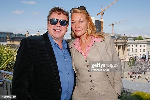 Armin Rohde and Karen Boehne attend 'Staatsoper fuer alle 2014' Open Air Concert on June 01 2014 in Berlin Germany