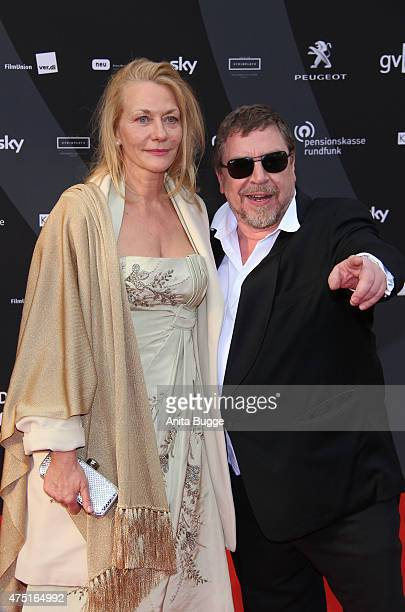 Armin Rohde and Karen Boehne attend the 'Deutscher Schauspielerpreis 2015' at Zoo Palast on May 29 2015 in Berlin Germany