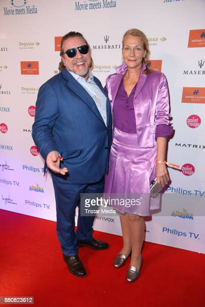 Armin Rohde and Karen Boehne attend the Movie Meets Media event 2017 at Hotel Atlantic Kempinski on November 27 2017 in Hamburg Germany