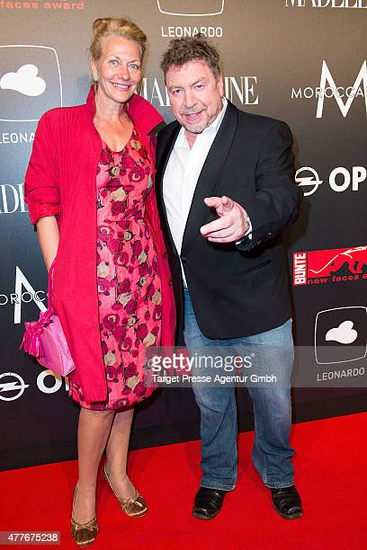 Armin Rohde and Karen Boehne attend the New Faces Award Film 2015 at ewerk on June 18 2015 in Berlin Germany