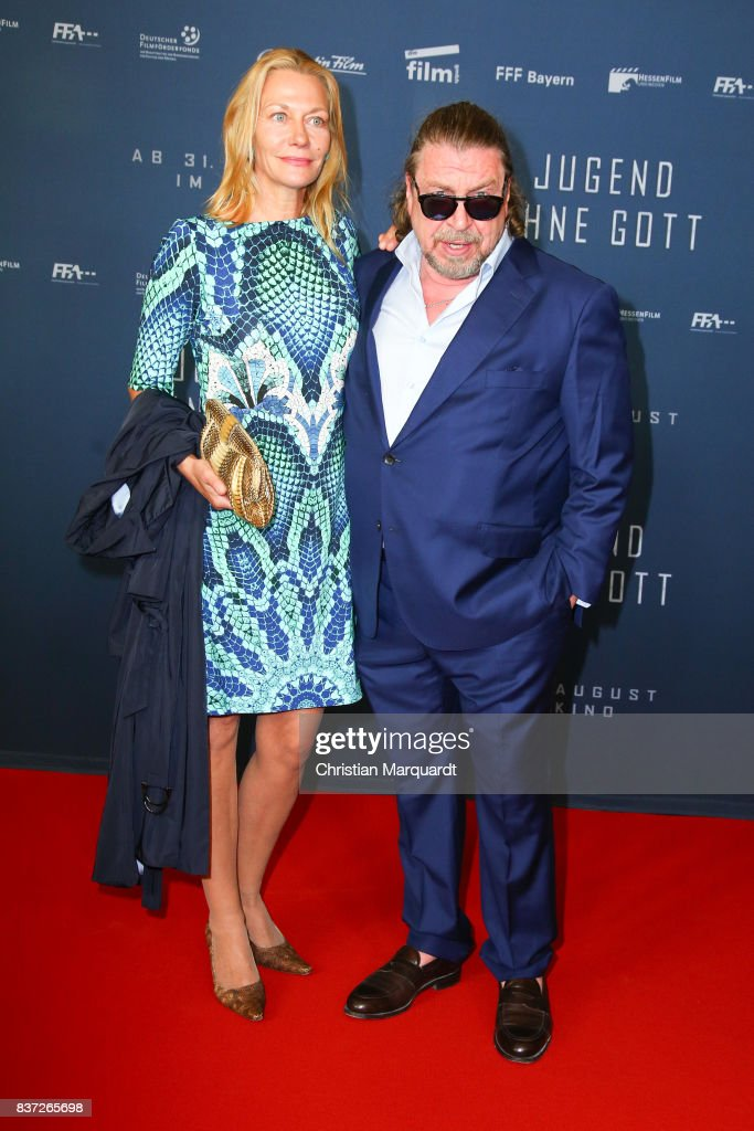 Armin Rohde and Karen Boehne attends the premiere of 'Jugend ohne Gott' at Zoo Palast on August 22, 2017 in Berlin, Germany.