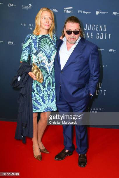 Armin Rohde and Karen Boehne attends the premiere of 'Jugend ohne Gott' at Zoo Palast on August 22 2017 in Berlin Germany