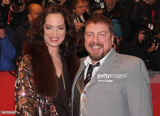 Armin Rohde and Natalia Woerner attends the premiere for 'The International' as part of the 59th Berlin Film Festival at the Berlinale Palast on...