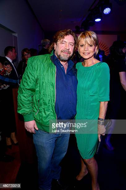 Armin Rohde and Uschi Glas attend Jupiter Award 2014 at Cafe Moskau on March 26 2014 in Berlin Germany