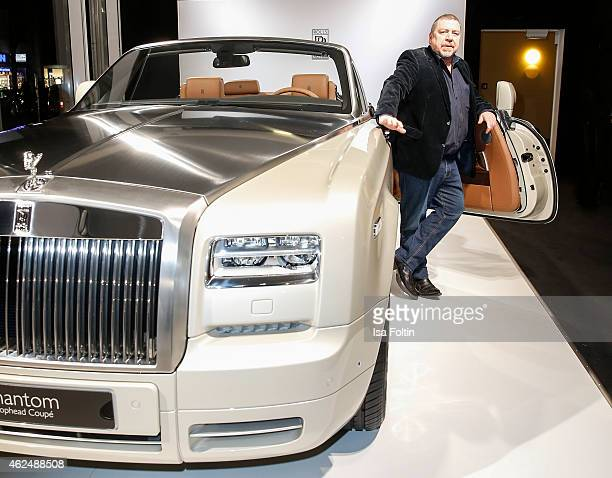 Armin Rohde attends the Rolls Royce Studio Opening on January 29 2015 in Berlin Germany