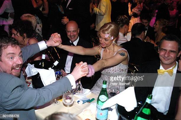 """Armin Rohde, Christian Berkel, Angela Baronin von Schilling , 32. """"Deutscher Filmball"""", Hotel """"Bayerischer Hof"""", München, Bayern, Deutschland,..."""