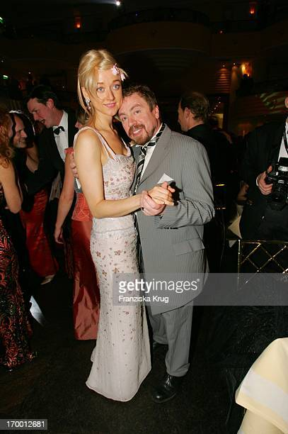 Armin Rohde Dancing With Wife Angela Baronin Von Schilling at The German Film Ball in the Hotel Bayerischer Hof in Munich.