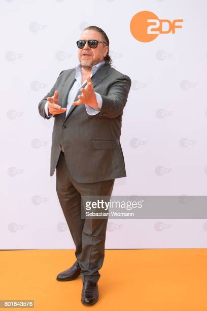 Armin Rohde gestures at the ZDF reception during the Munich Film Festival at Hugo's on June 27 2017 in Munich Germany