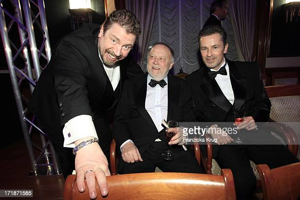 Armin Rohde Joseph Vilsmaier And Timothy Peach In The Fashion Gala Russian Spring in Berlin In The Embassy Of The Russian Federation in Berlin