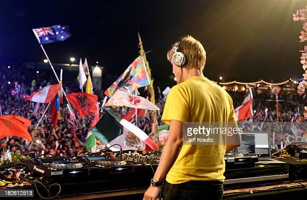 Armin Van Buuren at TomorrowWorld Electronic Music Festival on September 29 2013 in Fairburn Georgia