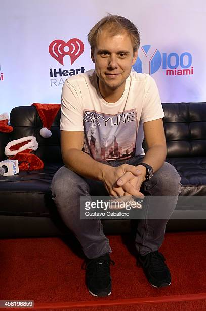 Armin van Buuren attends Y100's Jingle Ball 2013 Presented by Jam Audio Collection at BBT Center on December 20 2013 in Miami Florida