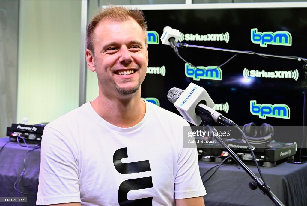 NY: Armin van Buuren Performs On SiriusXM's BPM Channel At The SiriusXM Studios In New York City
