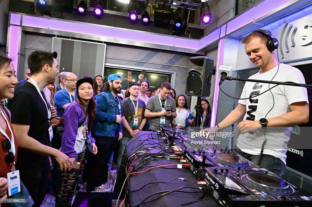NY: Armin van Buuren Performs On SiriusXM's BPM Channel At The SiriusXM Studios In New York City