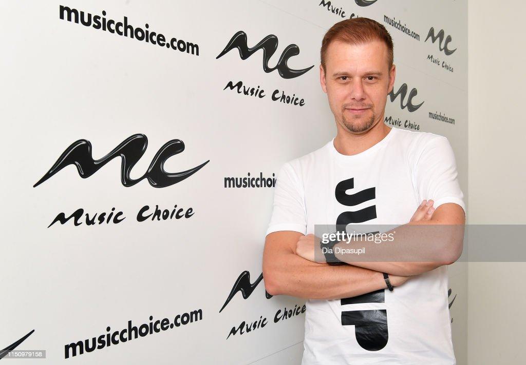 NY: Armin Van Buuren Visits Music Choice