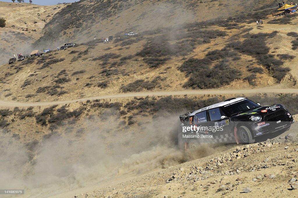 FIA World Rally Championship Mexico - Day One