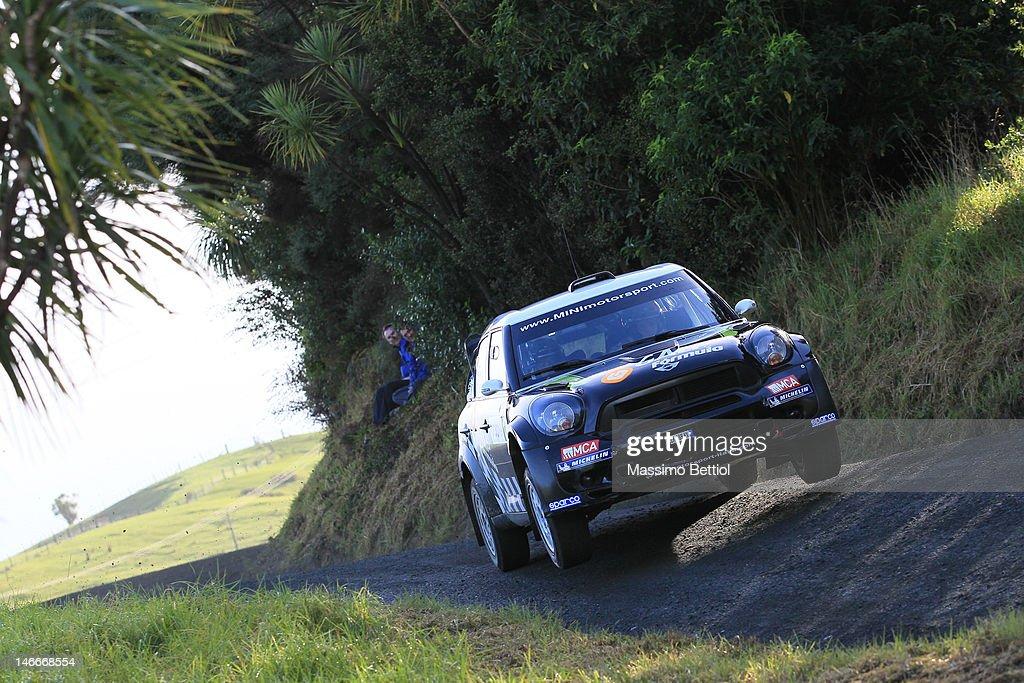FIA World Rally Championship New Zealand - Shakedown