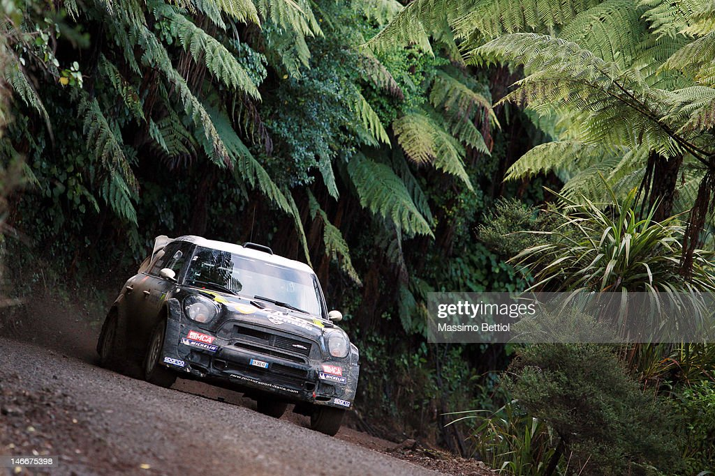 FIA World Rally Championship New Zealand - Day One