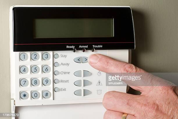 Arming un système de sécurité à la maison ou d'affaires