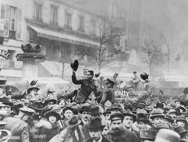 Armistice celebration in France