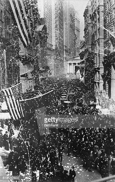 Armistice Day Wall Street 1918