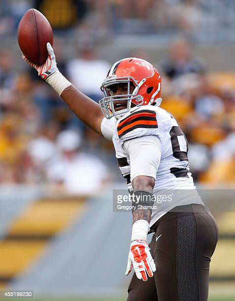 Armonty Bryant of the Cleveland Browns against the Pittsburgh Steelers at Heinz Field on September 7 2014 in Pittsburgh Pennsylvania