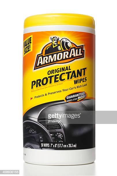 armorall protectant ワイプの鉄 - キャニスター ストックフォトと画像