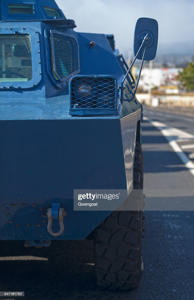 Armored vehicle from the GBGM