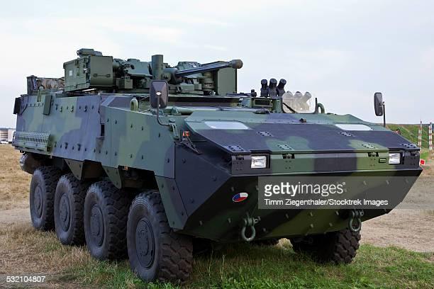 Armored vehicle of the Czech Army, Hradec Kralove, Czech Republic.