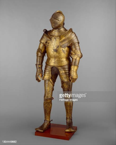 Armour Garniture, Probably of King Henry VIII of England , British, Greenwich, dated 1527. Artist Hans Holbein the Younger, Royal Workshops at...