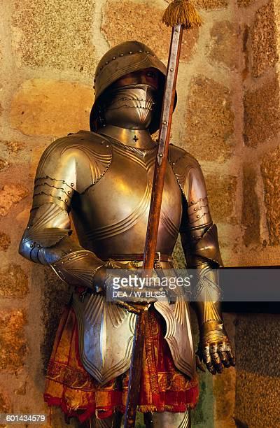 Armour Mendoza Castle Manzanares el Real Madrid Spain 15th century