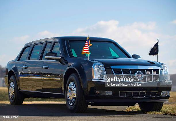Armoured limousine of the US President