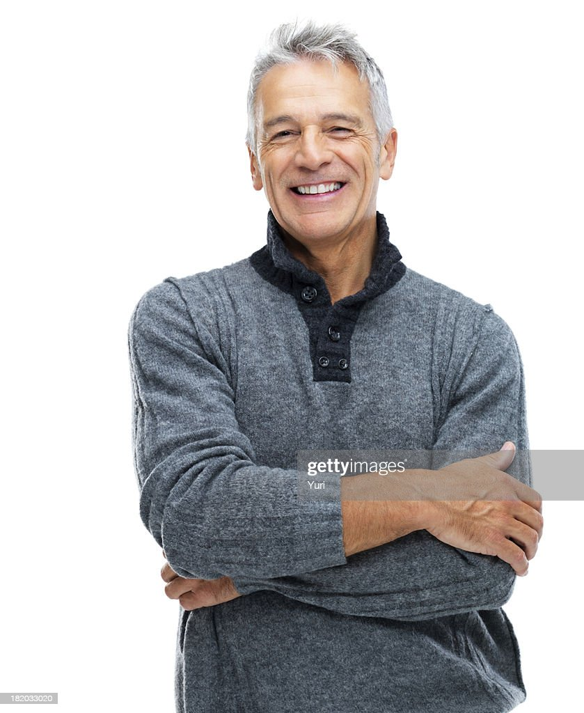 Arms crossed and radiating confidence : Stock Photo
