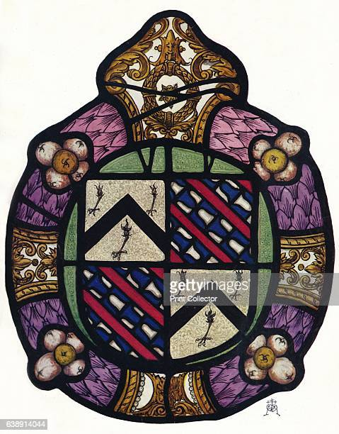 Arms of Sir Reginald Bray KG' c1900 From The Connoisseur Vol 98 edited by H Granville Fell [International Studio London 1936] Artist Unknown