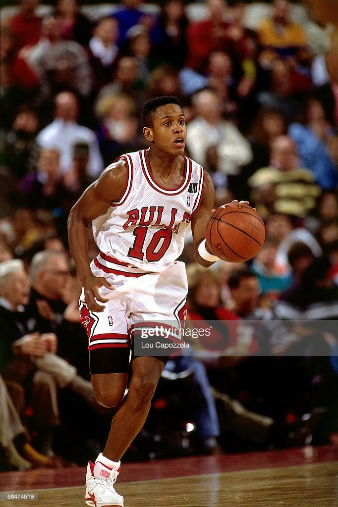 B.J. Armstrong of the Chicago ...