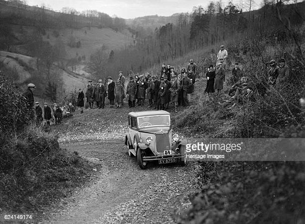 ArmstrongSiddeley of RJB Coath North West London Motor Club LondonGloucester Trial 1932 Artist Bill BrunellArmstrongSiddeley 1932 Vehicle Reg No...