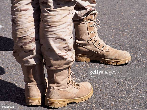 army, camouflage clothes and boots - spanish military stock pictures, royalty-free photos & images