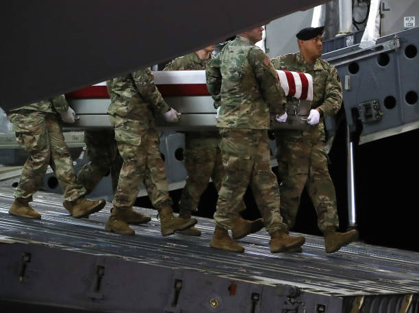DE: Dignified Transfer Held For Soldier Killed By Taliban In Afghanistan