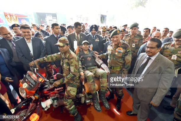 Army chief General Bipin Rawat along with Chairman of DRDO S Christopher during the inauguration of Defence Research and Development Organisation...