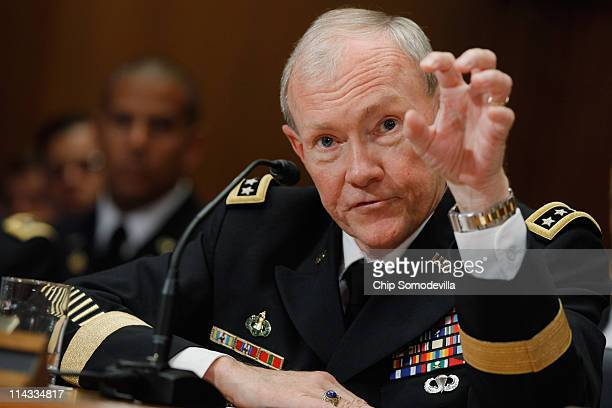 Army Chief of Staff Gen. Martin Dempsey testifies before the Senate Appropriations Committee's Defense Subcommittee on the proposed FY2012 Army...