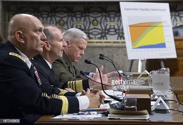 Army Chief of Staff General Raymond Odierno Chief of Naval Operations Admiral Jonathan Greenert and Commandant of the Marine Corps General James Amos...