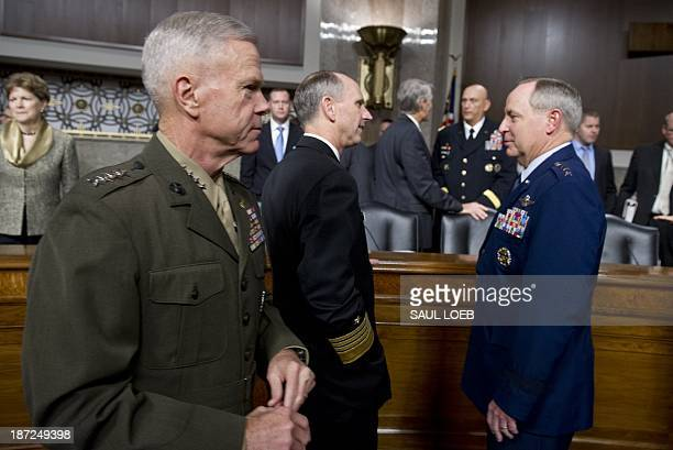 Army Chief of Staff General Raymond Odierno Chief of Naval Operations Admiral Jonathan Greenert Commandant of the Marine Corps General James Amos and...