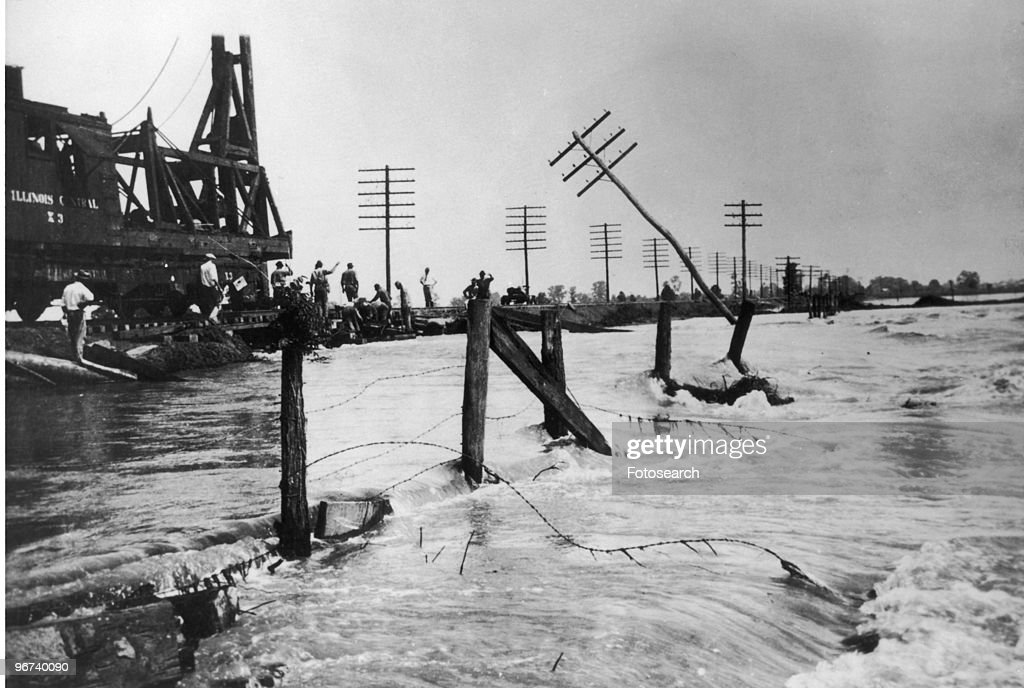 Great Mississippi Flood of 1927 : News Photo