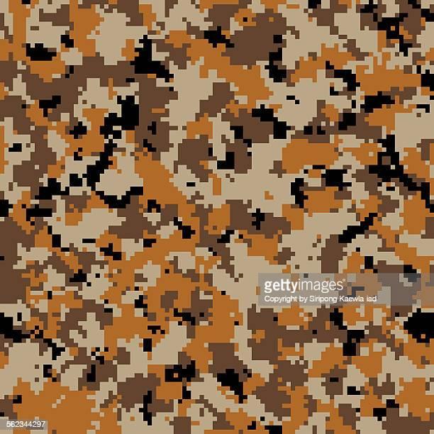 Army desert digital camouflage pattern background