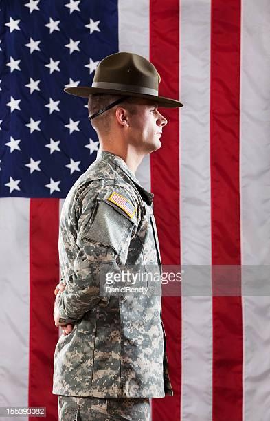 U S Army Drill Sergeant