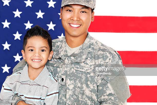 Army Family Series: Real American Soldier & Son